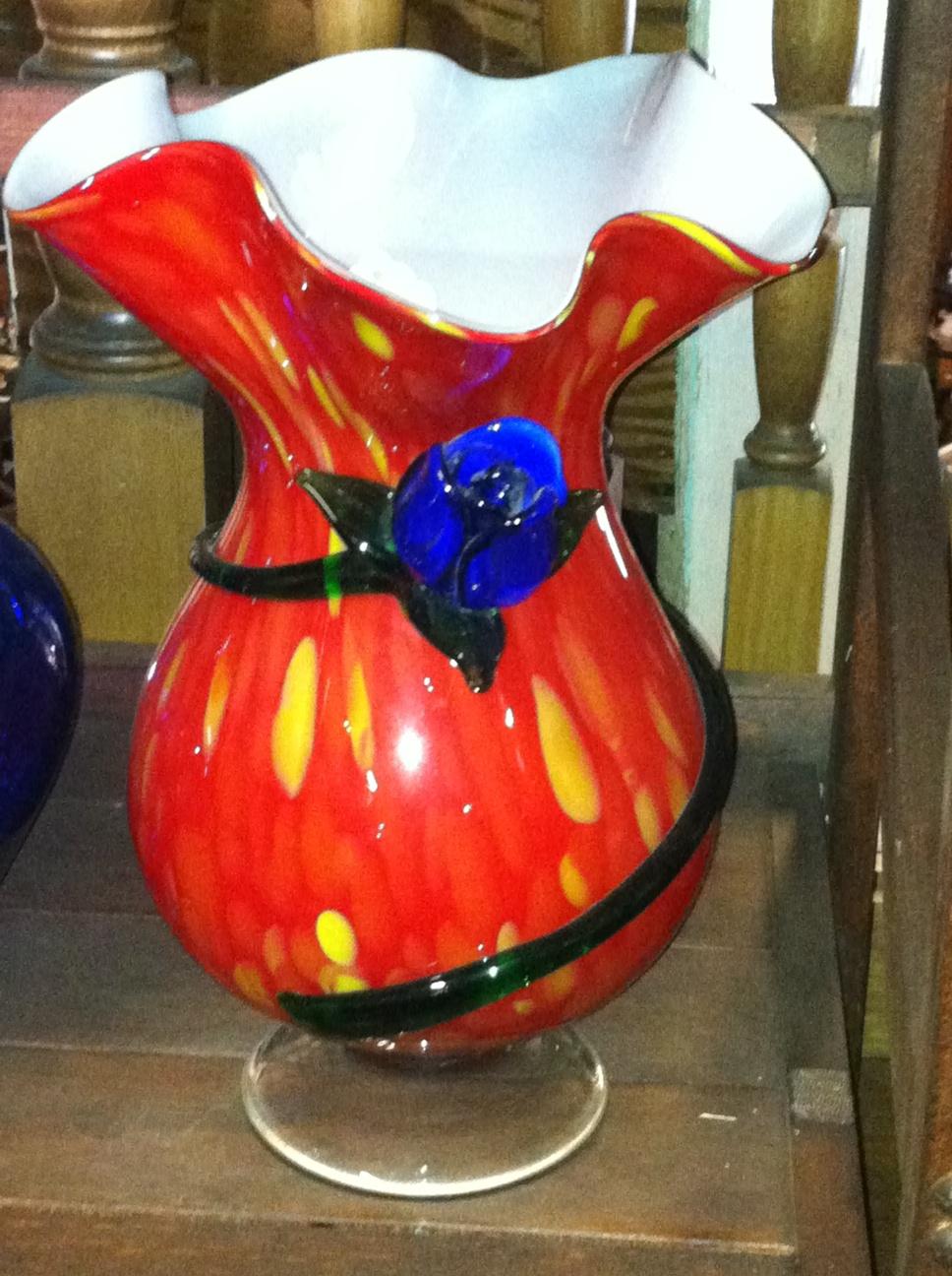 shrunken vase