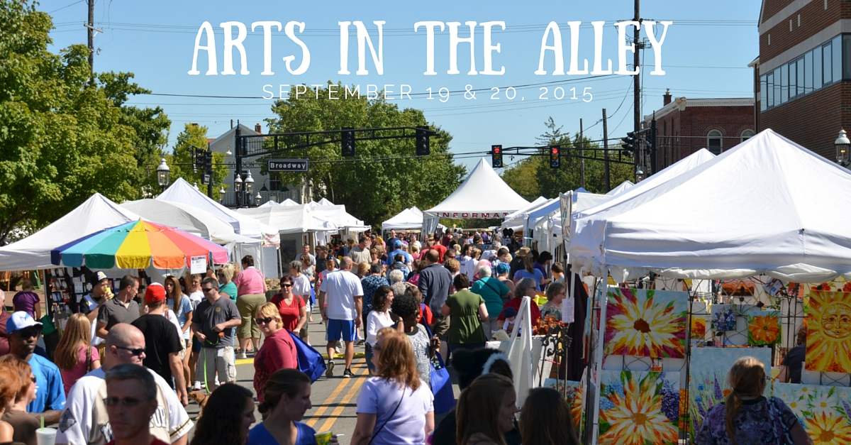 Arts in the Alley 2015