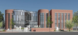 New library opening 2016 in Grove City