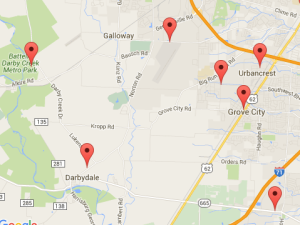 Recycling Drop-Off Locations Map - Green Living in Grove City