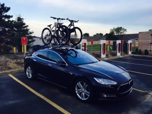 Tesla Charging Station - Green Living in Grove City